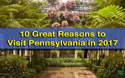 10 Great Reasons to Visit Chester County's Brandywine Valley